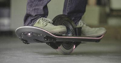 skateboard électrique à une roue