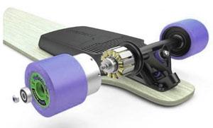 moteur d'un skateboard électrique