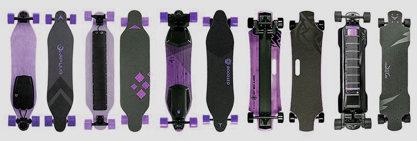 les types de skateboard électrique